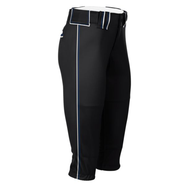 Hypertech Series Women's Fastpitch Triple Pant Black/Royal Blue/Black/White