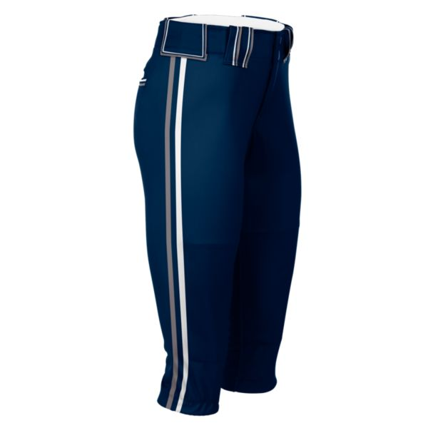 Hypertech Series Women's Fastpitch Tritone Pant Navy/Steel/White