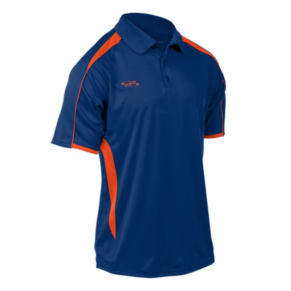 Envy Polo Shirt Royal Blue/Orange