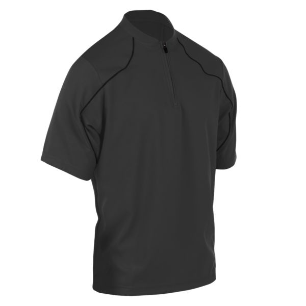Youth On Deck Quarter Zip Pullover Charcoal/Black