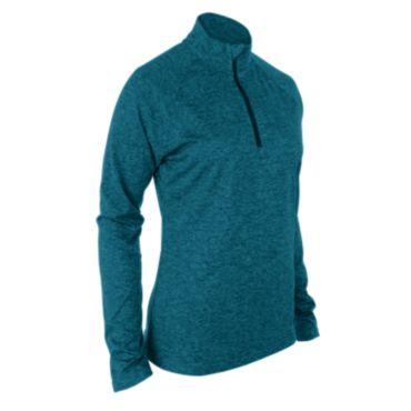 Women's Pro Blend Fusion Quarter Zip Pullover