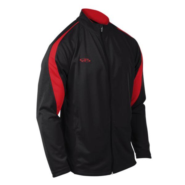 Men's Challenger Full Zip Jacket Black/Red