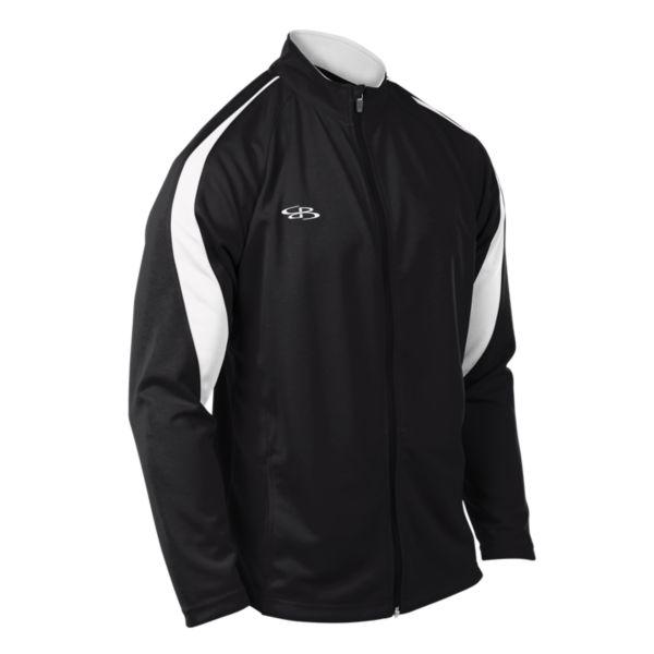 Men's Challenger Full Zip Jacket Black/White