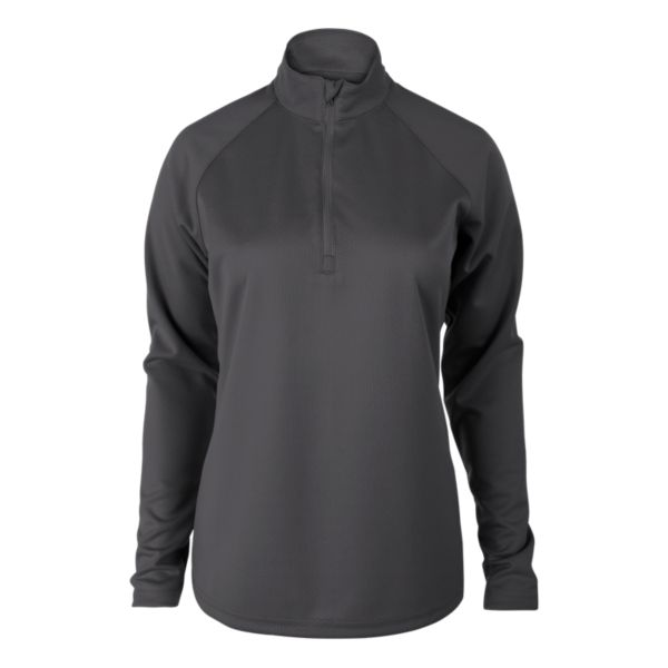 Women's Solid Verge Quarter Zip Pullover