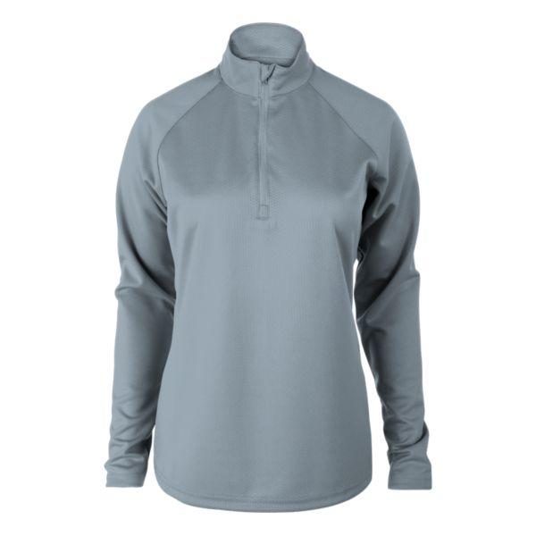Women's Solid Verge Quarter Zip Pullover