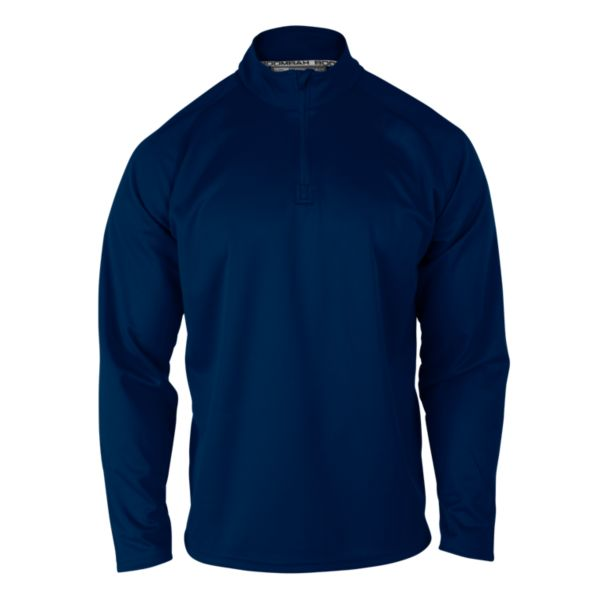 Men's Solid Verge Quarter Zip Pullover