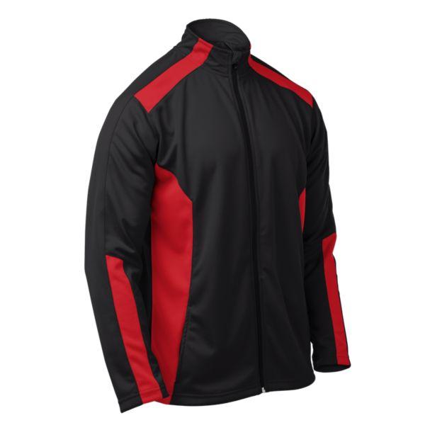 Men's Brink Full Zip Jacket Black/Red