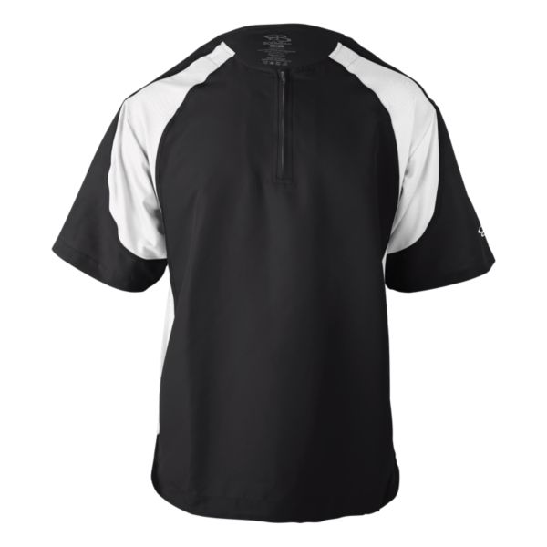 Youth Short Sleeve Explosion Pullover Black/White