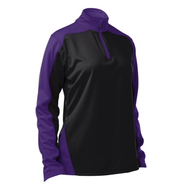 Women's Assess Quarter Zip Pullover