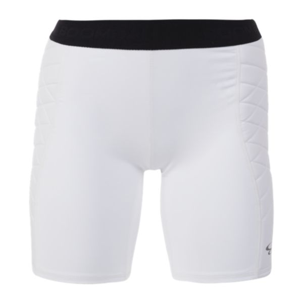 Women's Momentum Compression Sliding Shorts White