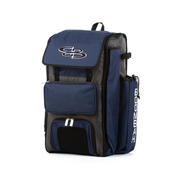 Catcher's Superpack Bat Bag Dark Charcoal/Navy