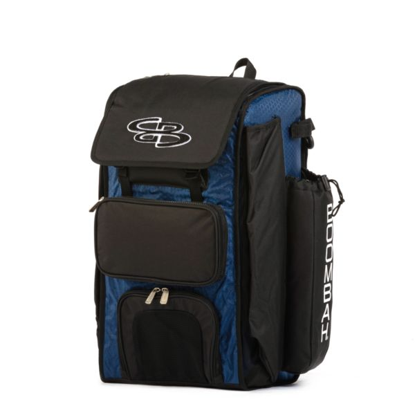 Catcher's Superpack Bat Bag Royal Blue/Black