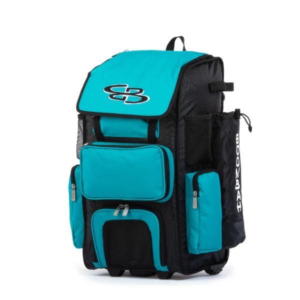 Superpack Hybrid Bat Pack Black/Teal