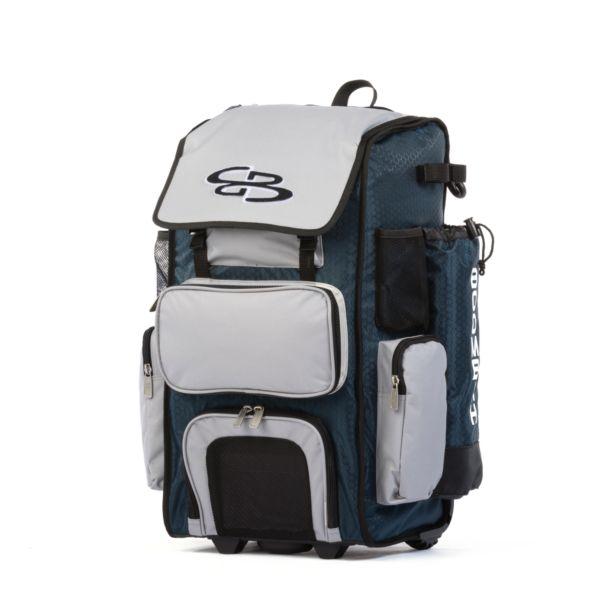 Superpack Hybrid Rolling Bat Bag