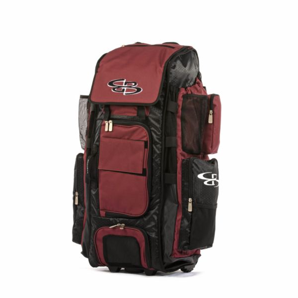 Rolling Superpack XL Solid Black/Maroon