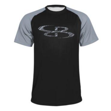 Youth B-Logo Slanted Short Sleeve Shirt