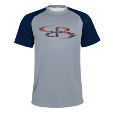 Men's B-Logo Crossways Short Sleeve Shirt