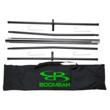 Boombah Pro Grade 7X7 Hitting Net Replacement Frame (Includes Base, Poles, Bag, and Stakes)
