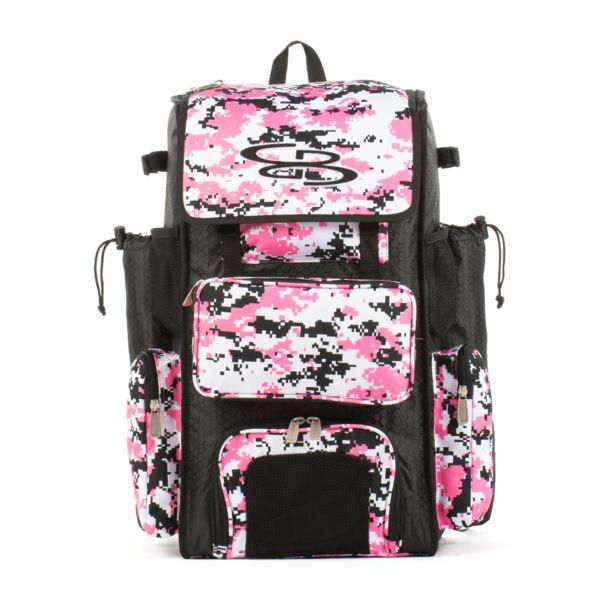 Superpack Bat Pack Camo Black/Pink