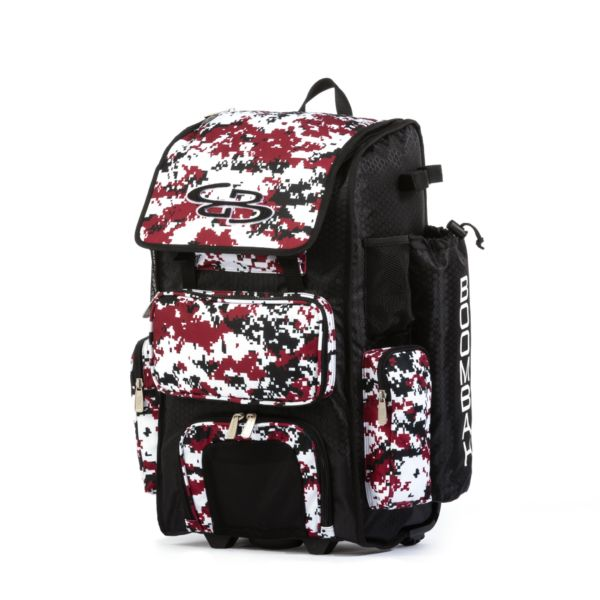 Rolling Superpack 2.0 Camo Black/Cardinal