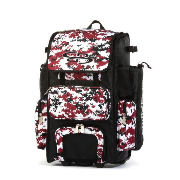 Rolling Superpack 2.0 Camo Black/Maroon