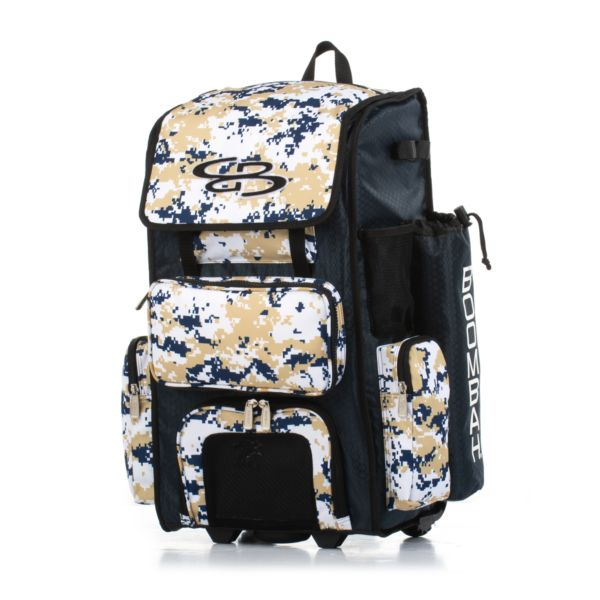 Superpack Camo Rolling Bat Bag 2.0