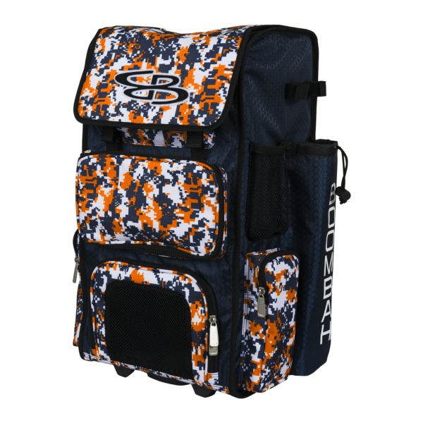 Superpack Camo Rolling Bat Bag