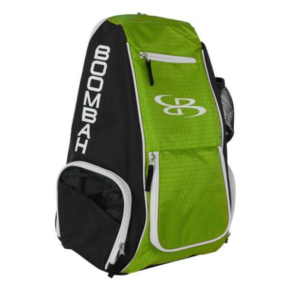 Spike Volleyball Backpack Black/Lime Green