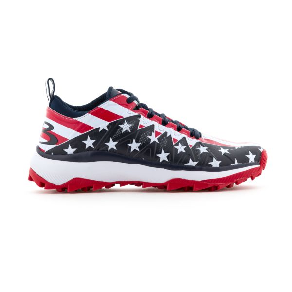 Men's Squadron USA Flag Turf 2.0