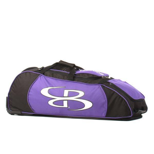 Spartan Rolling Bat Bag 2.0 Black/Purple