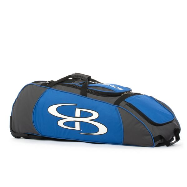 Spartan Rolling Bat Bag 2.0 Dark Charcoal/Royal