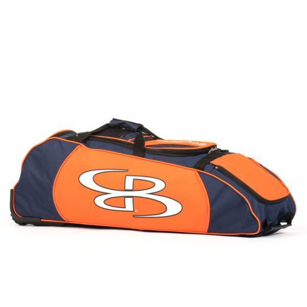 Spartan Rolling Bat Bag 2.0 Navy/Orange