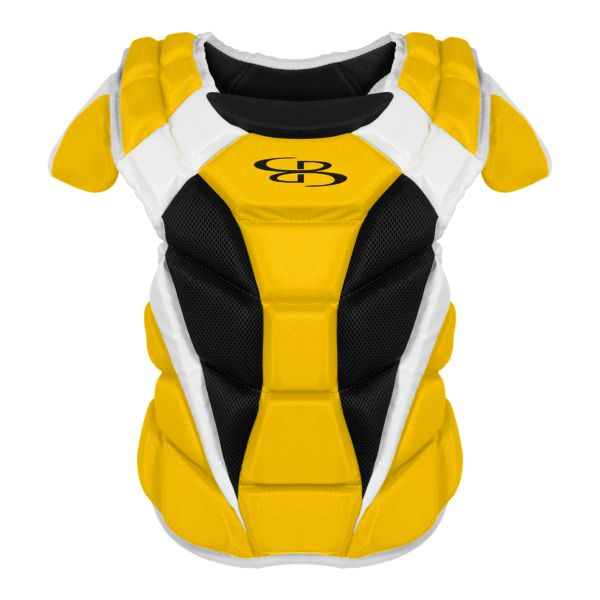 Boombah DEFCON Women's Chest Protector Gold/Black