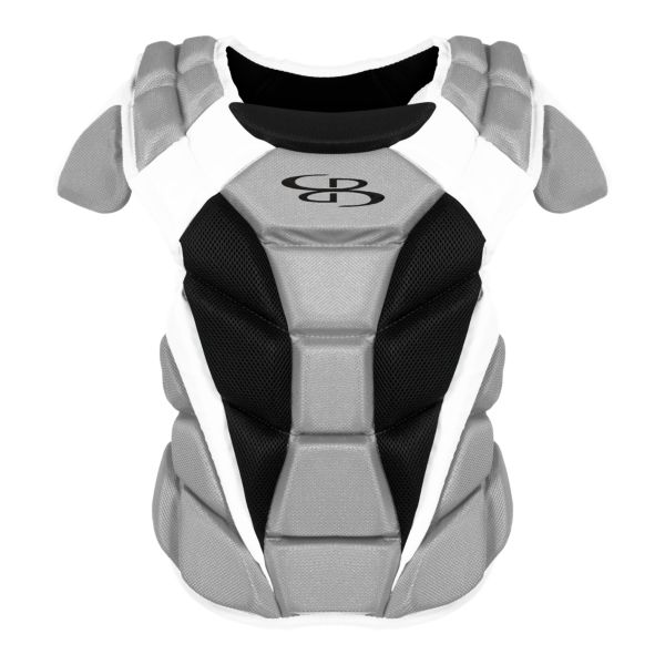 Boombah DEFCON Women's Chest Protector Gray/Black