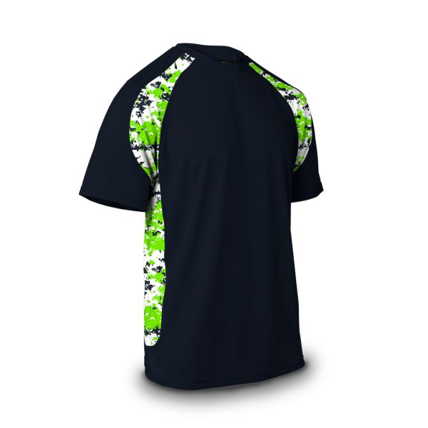 Men's Explosion Camo 2 Short Sleeve Shirt