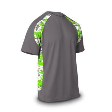Men's Explosion Camo 2 Short Sleeve Shirt