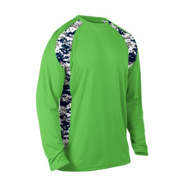 9d56eb057 Men's Explosion Camo 2 Long Sleeve Shirt