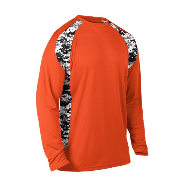 Men's Explosion Camo 2 Long Sleeve Shirt