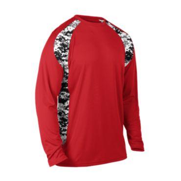 Men's Explosion Camo 2 Long Sleeve Shirt