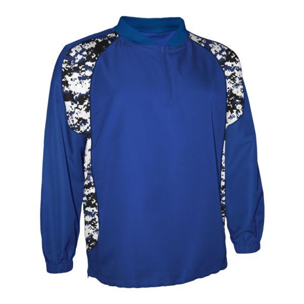 Men's Explosion Camo Quarter Zip Pullover