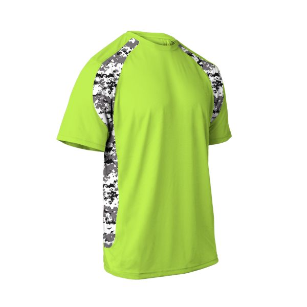 Youth Explosion Camo 2 Short Sleeve Shirt