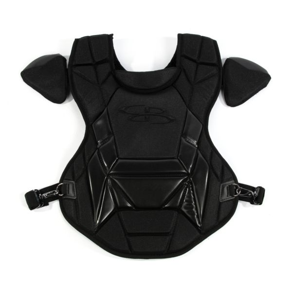 Boombah DEFCON Youth Chest Protector Commotio Cordis Matte Out Black/Black