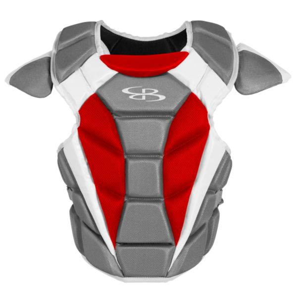 Boombah DEFCON Youth Chest Protector Dark Charcoal/Red