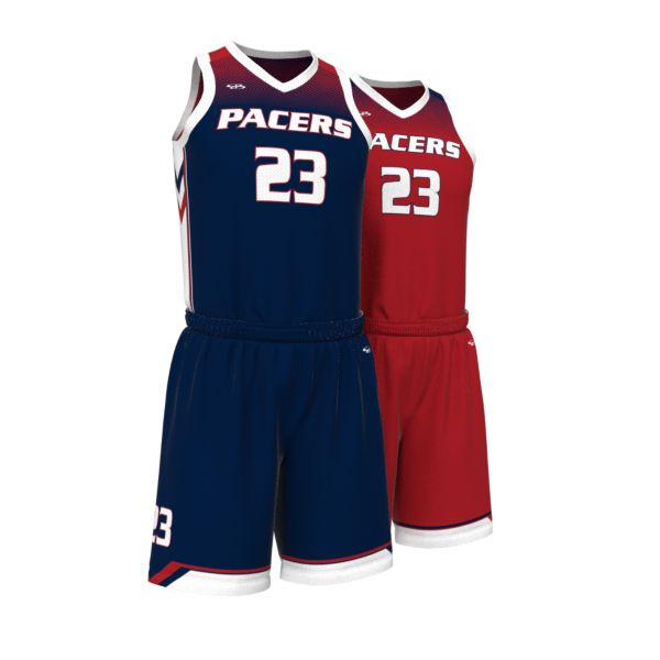 Custom Men's Fadeaway Series Reversible Basketball Full Uniform