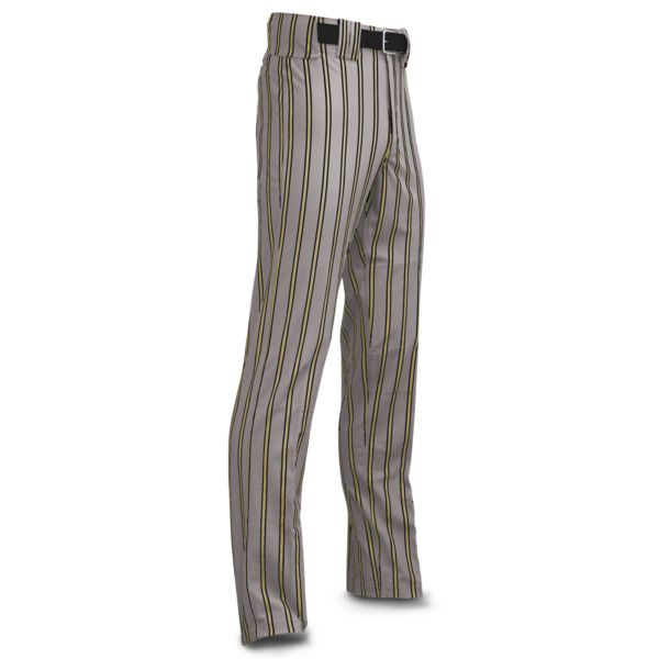 Men's Clearance Ultimate Thick Stripe Gray Body w/ Vegas Gold/Black Stripes