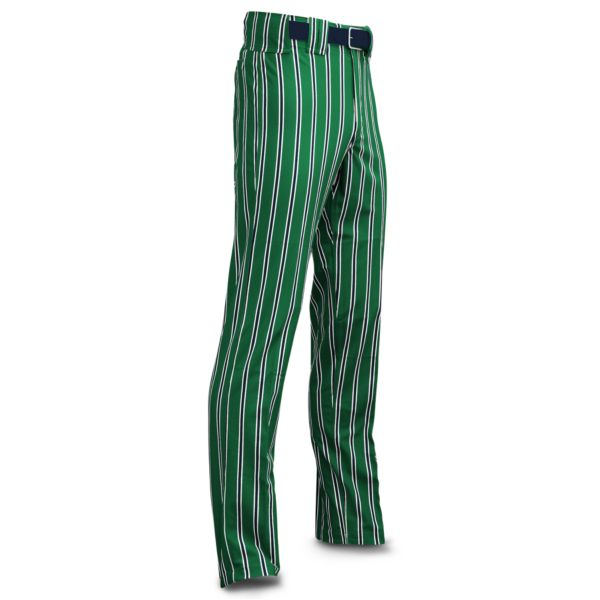 Men's Clearance Ultimate Thick Stripe Kelly Green Body w/ Navy/White Stripes