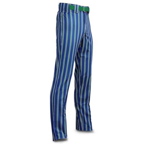 Men's Clearance Ultimate Thick Stripe Royal Body w/ Kelly Green/White Stripes