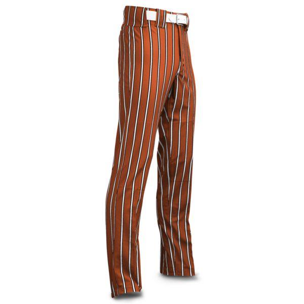 Men's Clearance Ultimate Thick Stripe Texas Orange Body w/ White/Black Stripe
