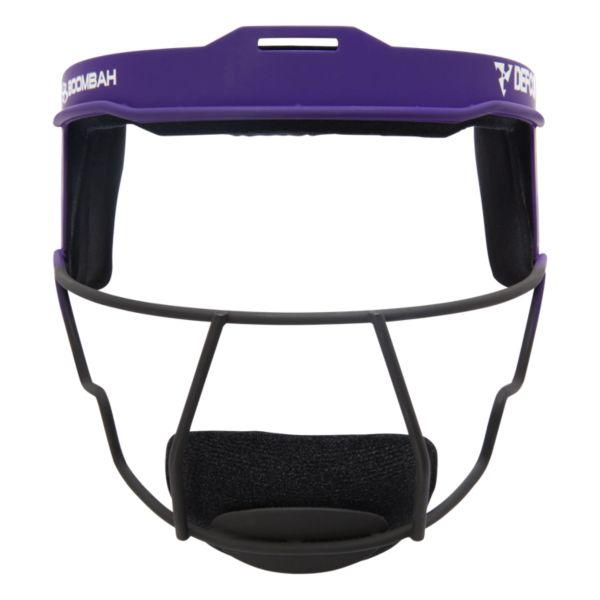Boombah DEFCON Steel 2 Tone Fade Fielder's Mask Purple/Black