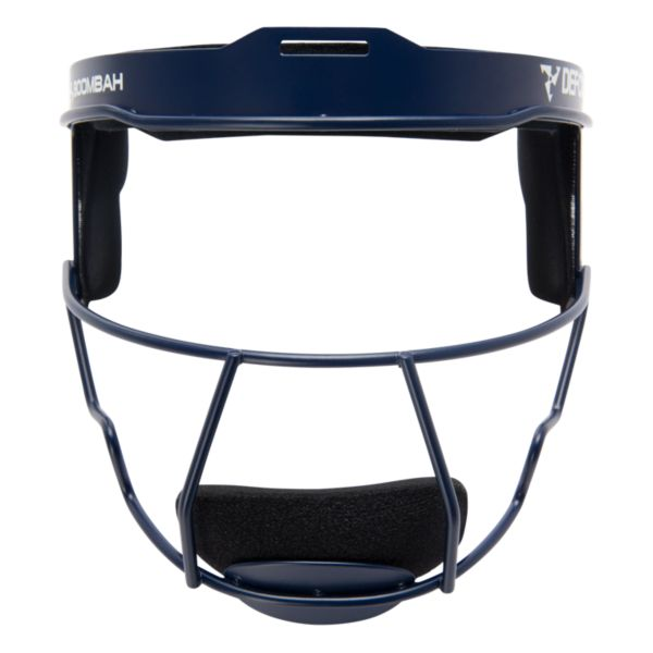 Boombah DEFCON Solid Steel Fielder's Mask Navy